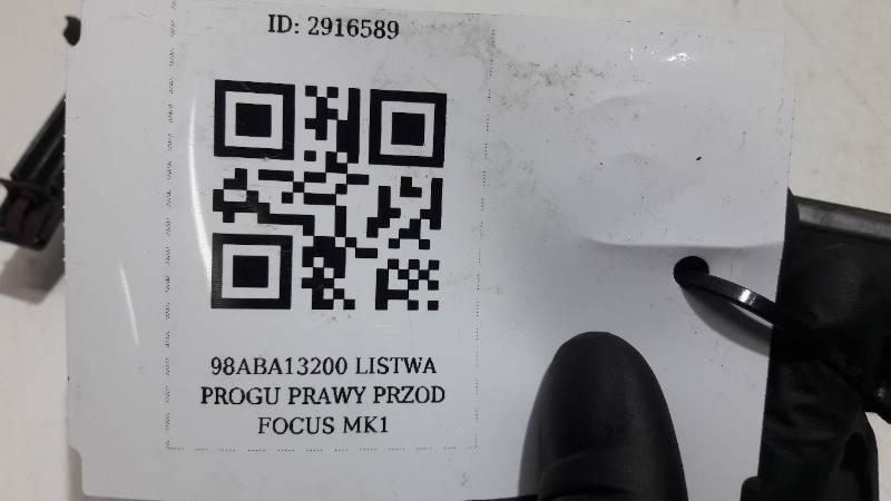 98ABA13200 LISTWA PROGU PRAWY PRZOD FOCUS MK1