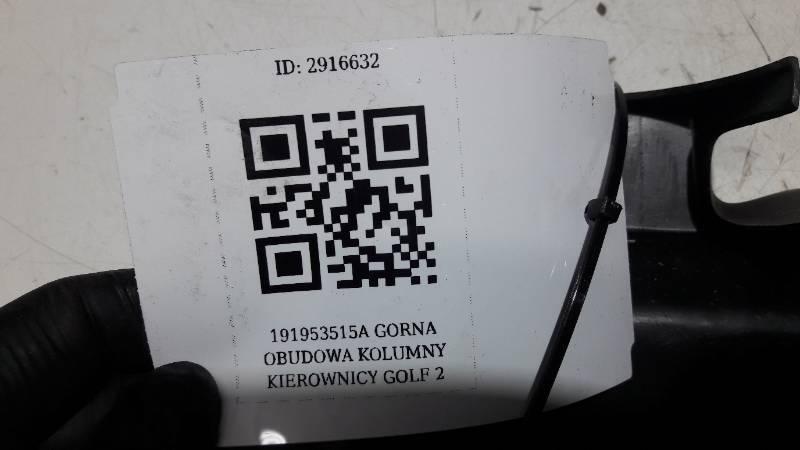 191953515A GORNA OBUDOWA KOLUMNY KIEROWNICY GOLF 2