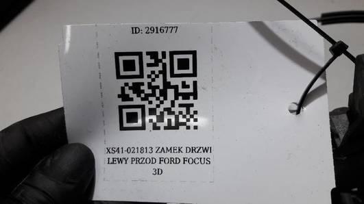 XS41-021813 ZAMEK DRZWI LEWY PRZOD FORD FOCUS 3D