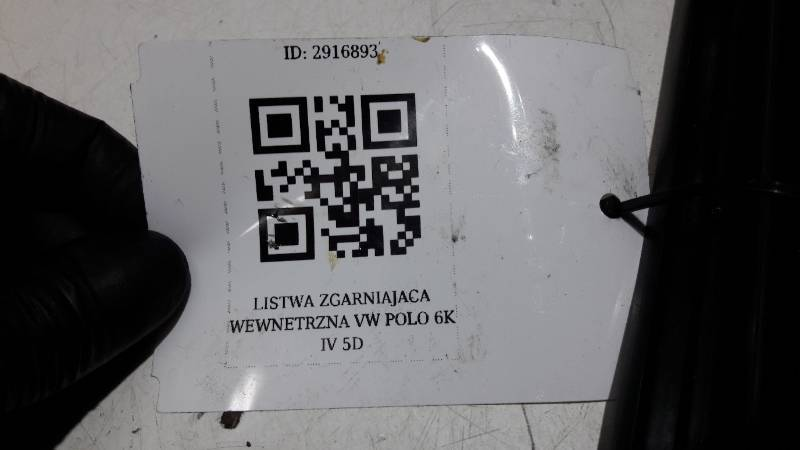 LISTWA ZGARNIAJACA WEWNETRZNA VW POLO IV 5D