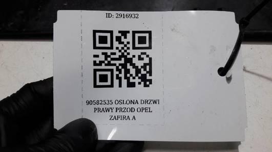 90582535 OSLONA DRZWI PRAWY PRZOD OPEL ZAFIRA A