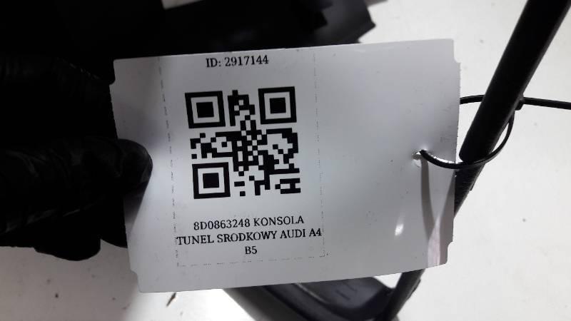 8D0863248 KONSOLA TUNEL SRODKOWY AUDI A4 B5