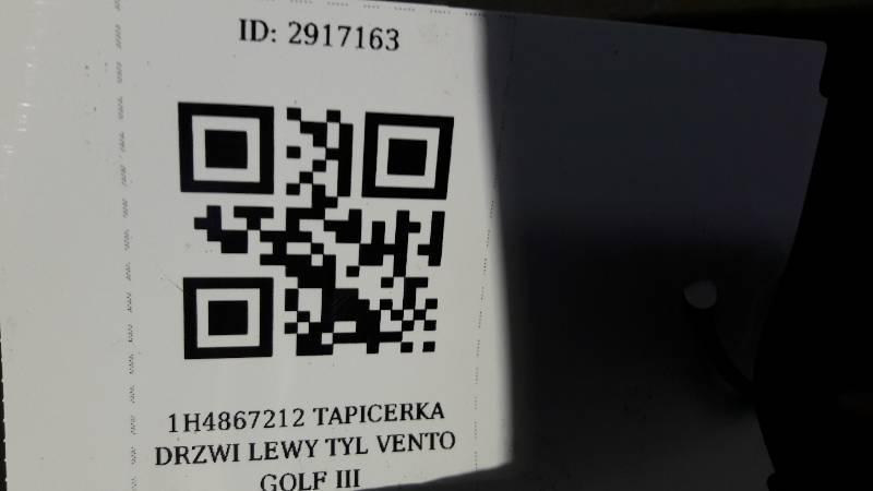 1H4867212 TAPICERKA DRZWI LEWY TYL VENTO GOLF III