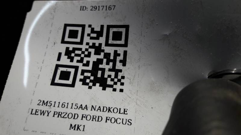 2M5116115AA NADKOLE LEWY PRZOD FORD FOCUS MK1