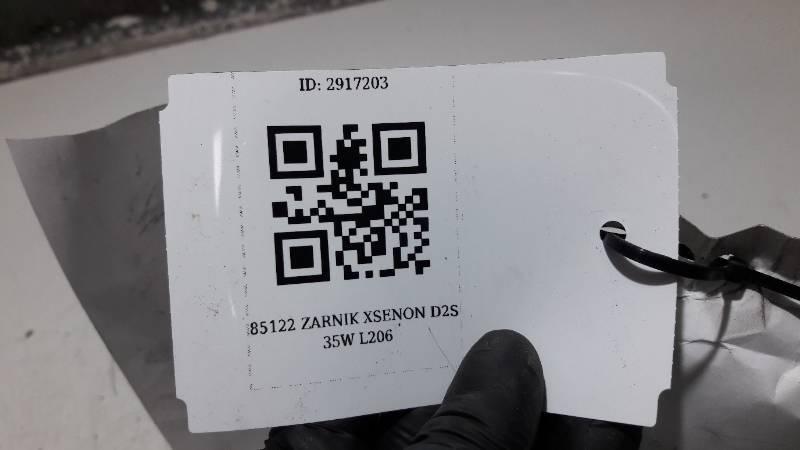 85122 ZARNIK XSENON D2S 35W L206