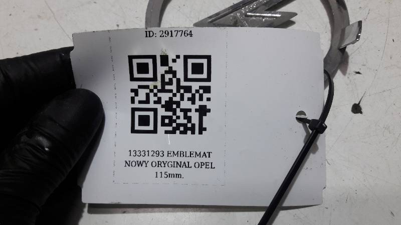 13331293 EMBLEMAT NOWY ORYGINAL OPEL