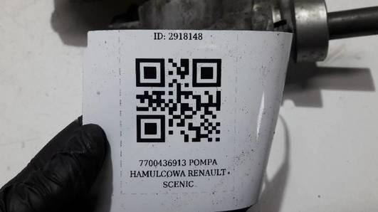 7700436913 POMPA HAMULCOWA RENAULT SCENIC