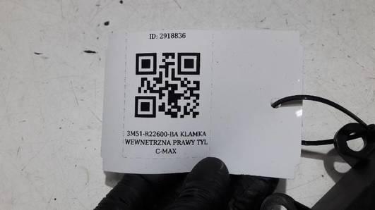3M51-R22600-BA KLAMKA WEWNETRZNA PRAWY TYL C-MAX