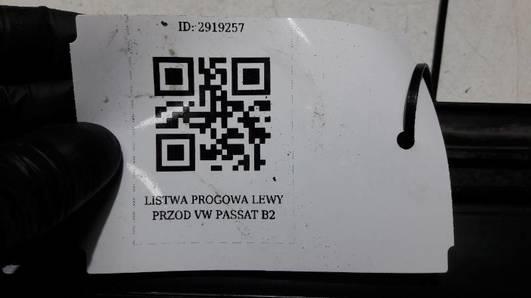 LISTWA PROGOWA LEWY PRZOD VW PASSAT B2