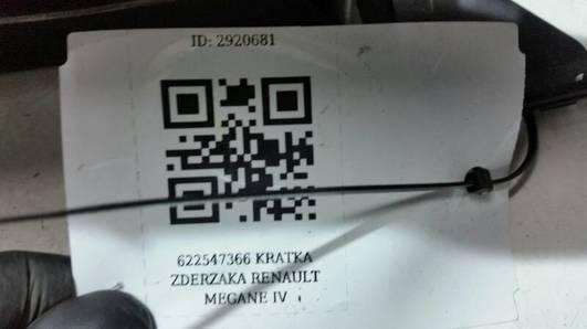 622547366R KRATKA ZDERZAKA RENAULT MEGANE IV
