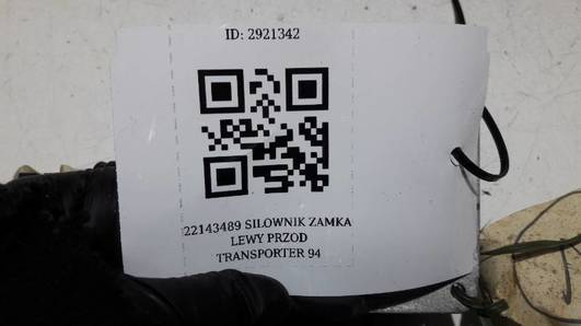 22143489 SILOWNIK ZAMKA LEWY PRZOD TRANSSPORT