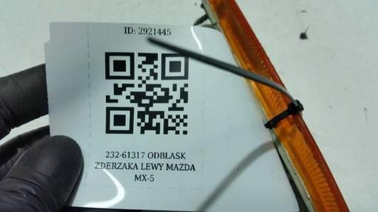 232-61317 ODBLASK ZDERZAKA LEWY MAZDA MX-5