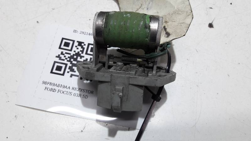 98FB9A819AA REZYSTOR FORD FOCUS 03R 5D