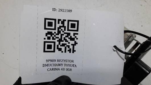 REZYSTOR DMUCHAWY TOYOTA CARINA 4D 95R