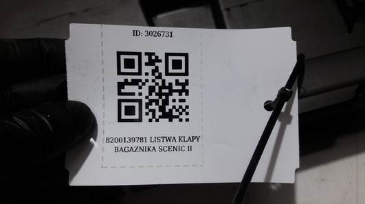 8200139781 LISTWA KLAPY BAGAZNIKA SCENIC II