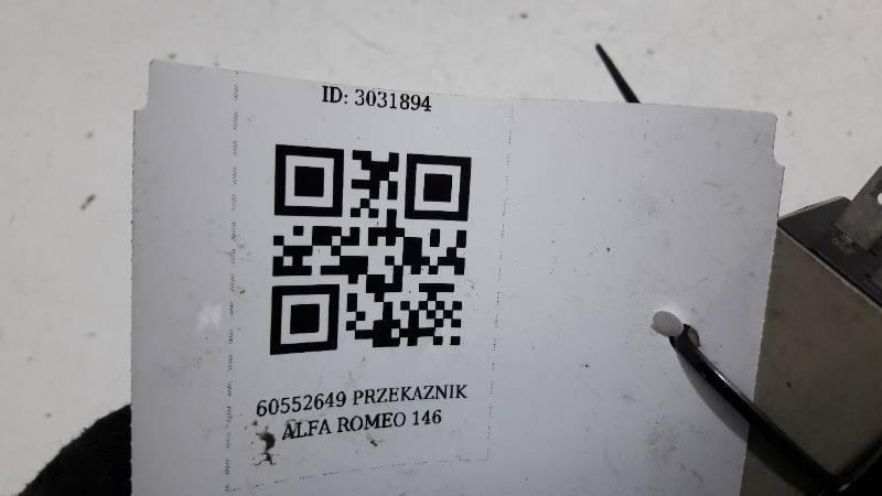 60552649 PRZEKAZNIK ALFA ROMEO 146