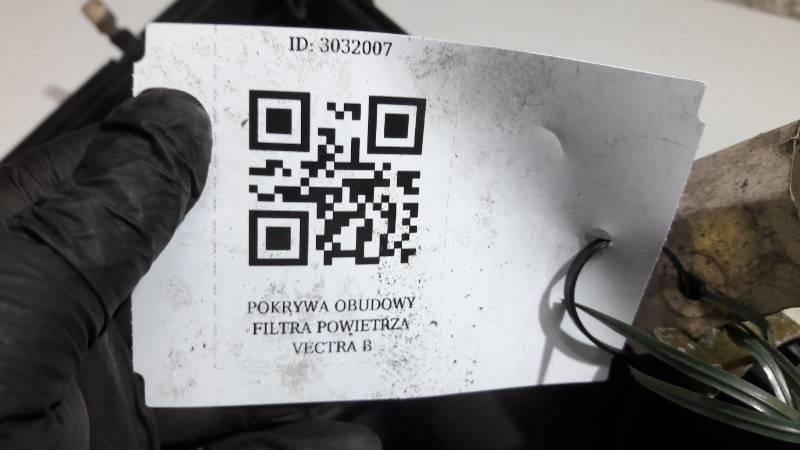 POKRYWA OBUDOWY FILTRA POWIETRZA VECTRA  B
