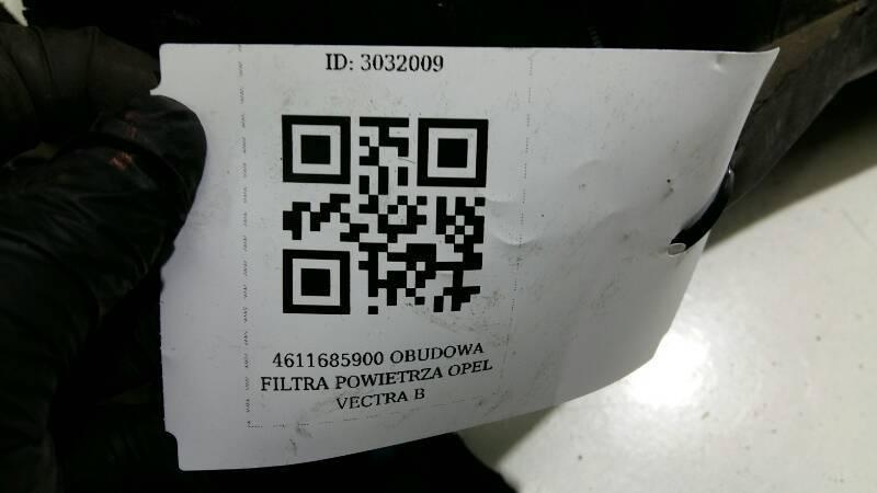 4611685900 OBUDOWA FILTRA POWIETRZA OPEL VECTRA B