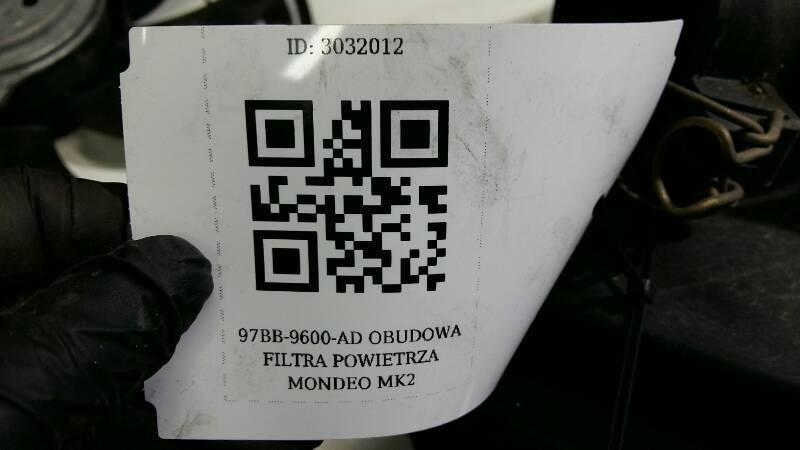 97BB-9600-AD OBUDOWA FILTRA POWIETRZA MONDEO MK2