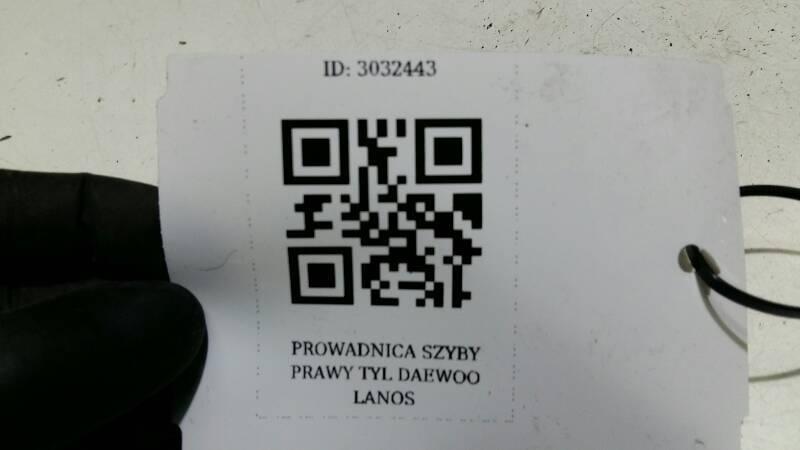 PROWADNICA SZYBY PRAWY TYL DAEWOO LANOS