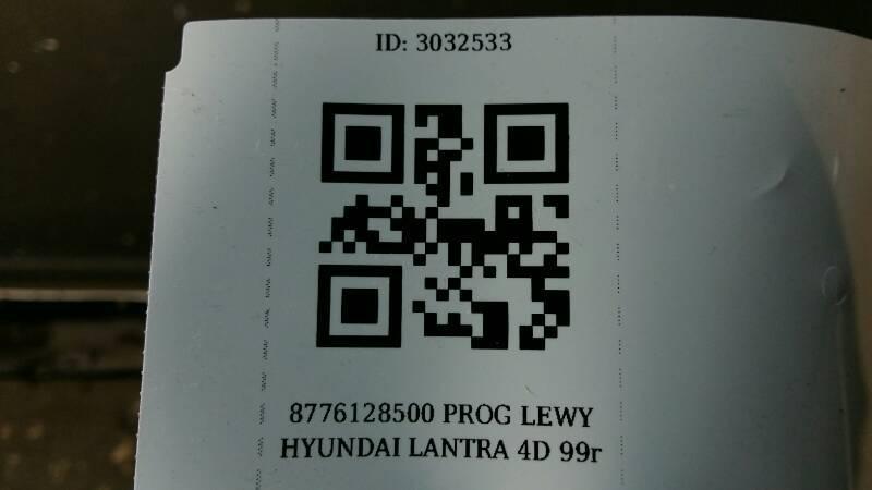 8776128500 NAKLADKA PROGU LEWA HYUNDAI LANTRA 4D