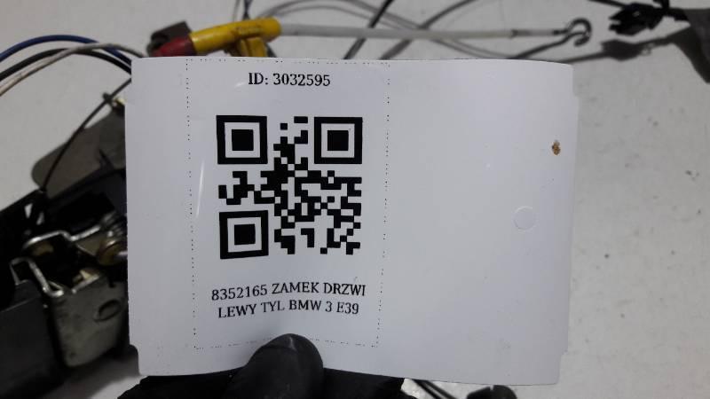 8352165 ZAMEK DRZWI LEWY TYL BMW 3 E39