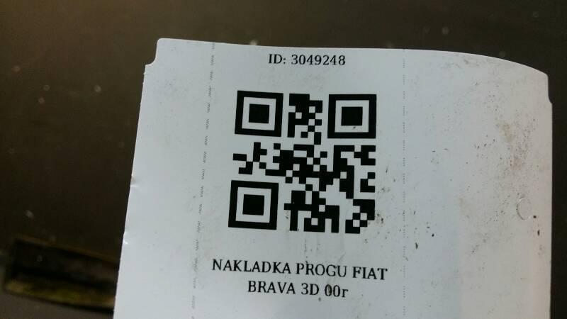 NAKLADKA PROGU FIAT BRAVA 3D 00r