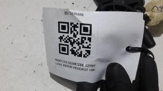 400672T4 SILNICZEK SZYBY LEWY PRZOD PEUGEOT 106