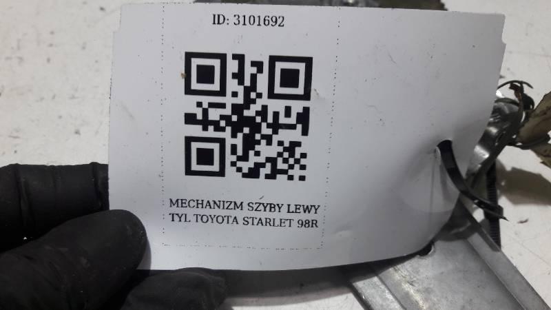 MECHANIZM SZYBY LEWY TYL TOYOTA STARLET 98R