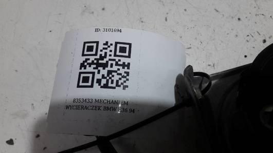 8353433 MECHANIZM WYCIERACZEK BMW E36 94