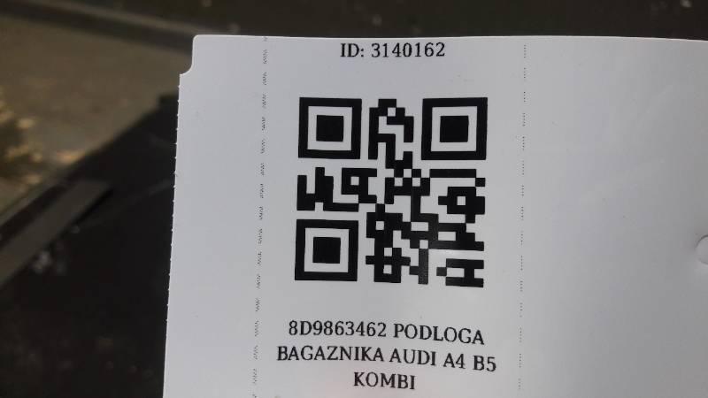 8D9863462 PODLOGA BAGAZNIKA AUDI A4 B5 KOMBI