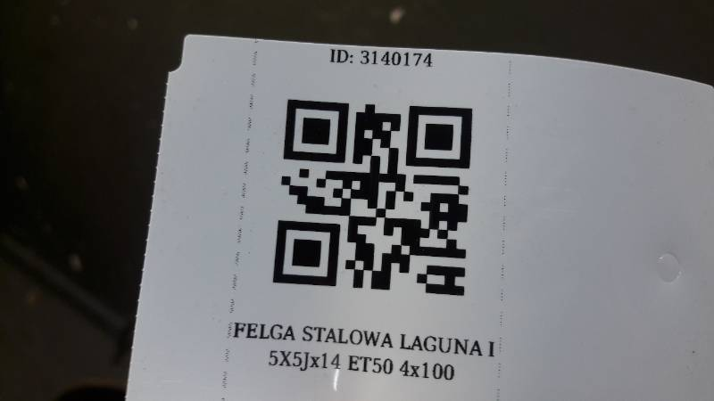 FELGA STALOWA LAGUNA I 5.5Jx14 ET50 4x100