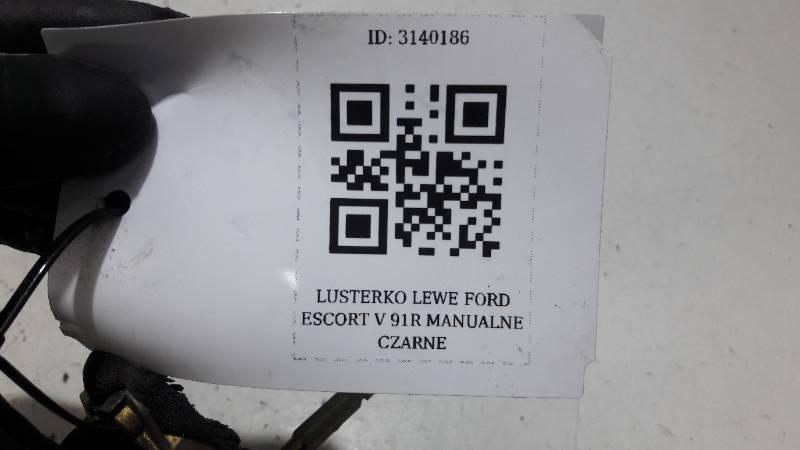 LUSTERKO LEWE FORD ESCORT V 91R MANUALNE CZARNE