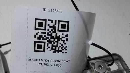 MECHANIZM SZYBY LEWY TYL VOLVO V50
