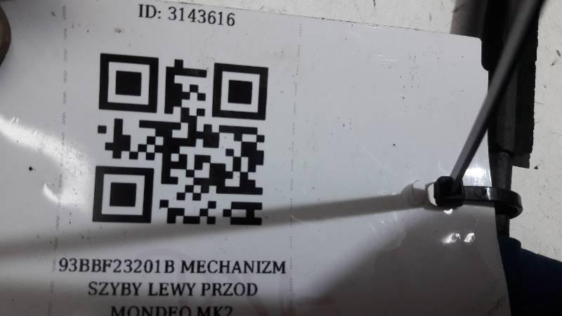 93BBF23201B MECHANIZM SZYBY LEWY PRZOD MONDEO MK2
