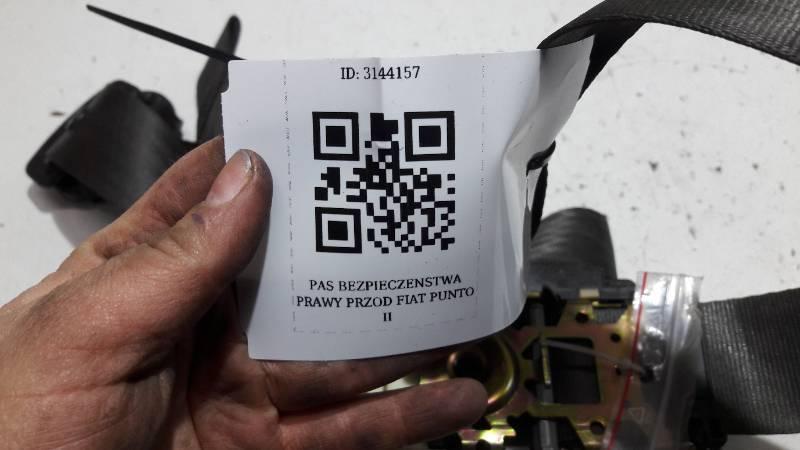 33006710F PAS PRAWY PRZOD FIAT PUNTO II