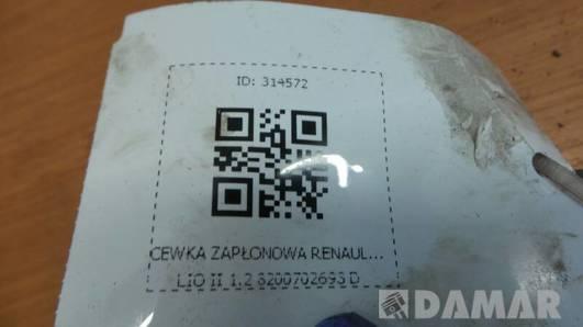 8200702693 CEWKA ZAPLONOWA RENAULT CLIO II 1.2