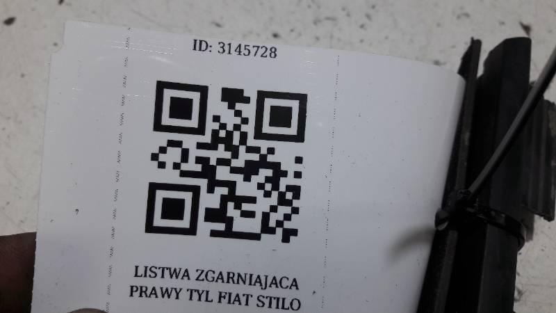 LISTWA ZGARNIAJACA PRAWY TYL FIAT STILO