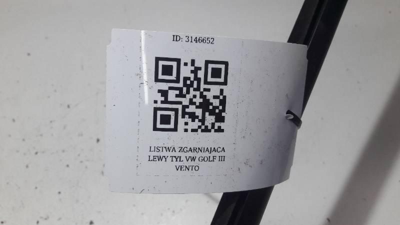 LISTWA ZGARNIAJACA LEWY TYL VW GOLF III VENTO