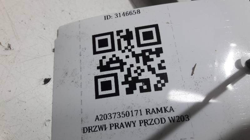 A2037350171 RAMKA DRZWI LEWY TYL MERCEDES W203