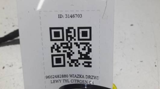 9662482880 WIAZKA DRZWI LEWY TYL CITROEN C4