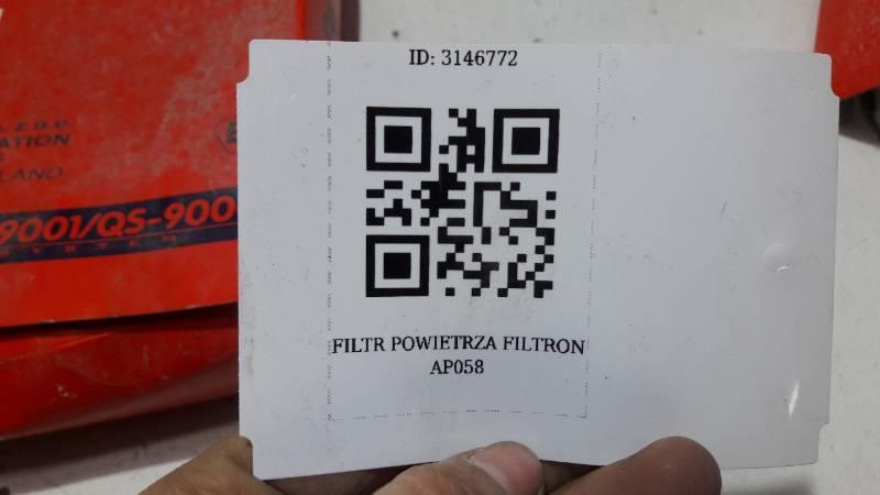 FILTR POWIETRZA FILTRON AP058