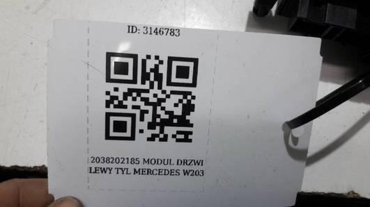 2038202185 MODUL DRZWI LEWY TYL MERCEDES W203