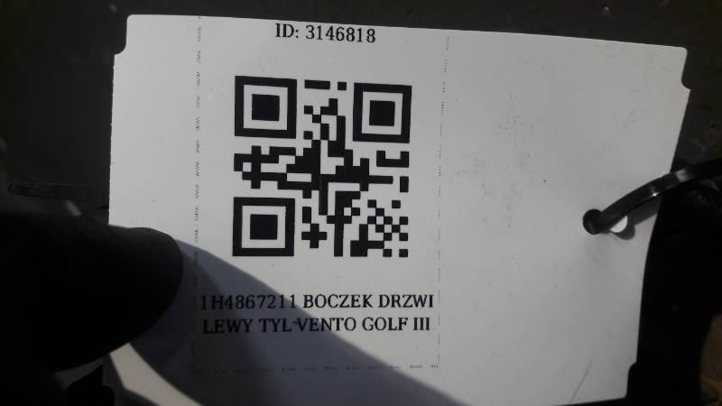 1H4867211 BOCZEK DRZWI LEWY TYL VENTO GOLF III