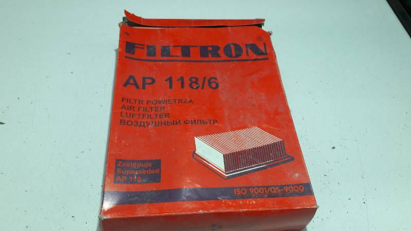AP118/6 FILTR POWIETRZA MERCEDES W202 FILTRON