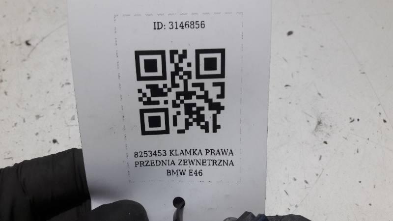 8253453 KLAMKA PRAWA PRZEDNIA ZEWNETRZNA BMW E46