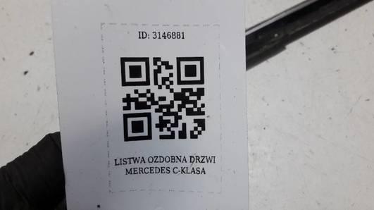LISTWA OZDOBNA DRZWI MERCEDES C-KLASA W204