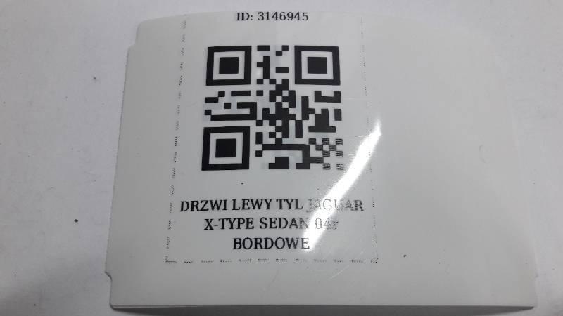 DRZWI LEWY TYL JAGUAR X-TYPE SEDAN 04r BORDOWE
