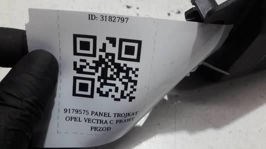 9179575 OSLONA LUSTERKA PRAWA OPEL VECTRA C