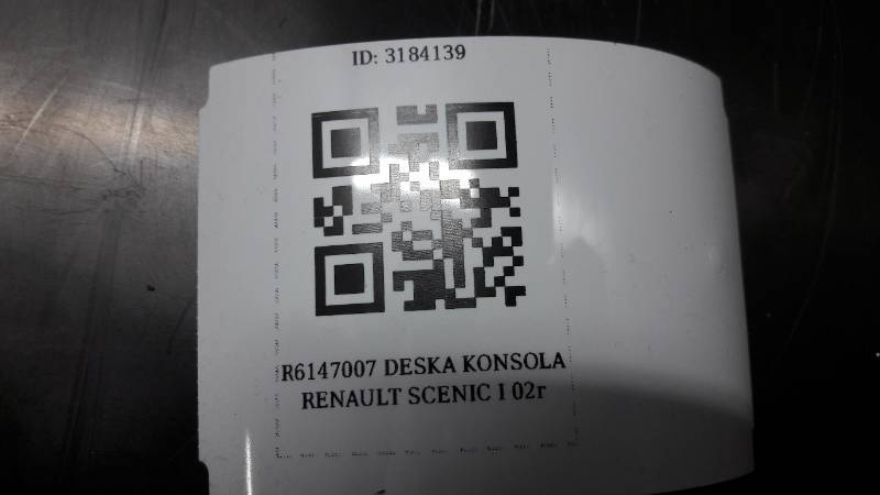 R6147007 DESKA KONSOLA RENAULT SCENIC I 02r